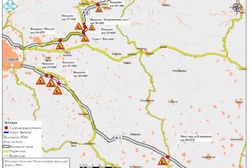 Утре от 14 ч. до 20 ч. се спира движението на камионите над 12 т по автомагистралите