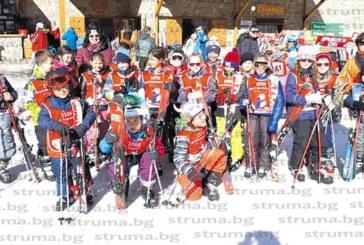Третокласниците на благоевградското V СУ се научиха да карат ски, отличиха ги с грамоти
