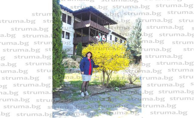 Старшата сестра в МБАЛ - Благоевград Хр. Йорданова посети два манастира в почивния си ден, зареди се с енергия