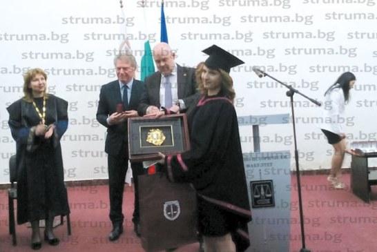 """360 абсолвенти на най-големия факултет на ЮЗУ """"Н. Рилски"""" – Благоевград се дипломираха"""