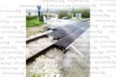 Жители на Бело поле стартираха подписка, недоволни от ремонта на жп прелеза край селото