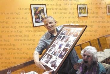 Бившият кмет на Делвино и Марулево Л. Парашкански получи позлатен комплект карти за юбилей