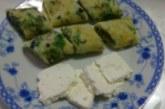 Палачинки със сирене и магданоз