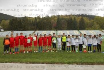 Петокласници играха футбол в Кюстендил