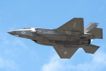 Изтребител Ф-35 се разби край Япония