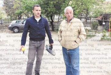 """Бившият вратар на """"Пирин"""" Б. Безев: Пред премиера Б. Борисов при откриването на санирания ни блок ни обещаха да се оправи и   районът наоколо, но 3 г. тъпчем камъни"""