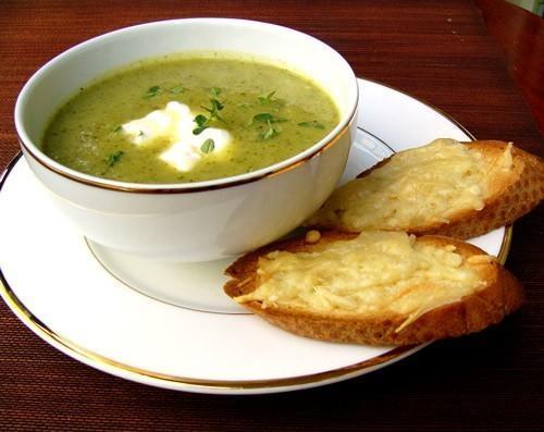Спаначена крем-супа