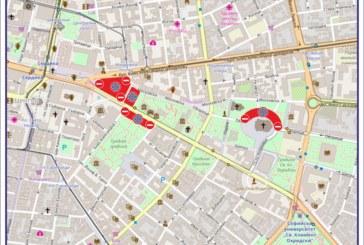 Затварят ключови булеварди и улици в София