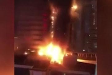 ОГНЕН АД! Пламна 58-етажен небостъргач в Китай