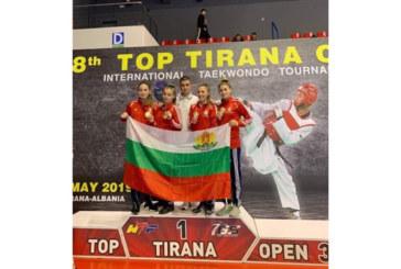 Квартет дупнишки гладиаторки разби с 20 т. разлика съперничките си в Тирана