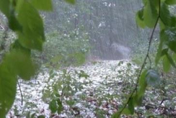 Дъждове и градушки на Гергьовден