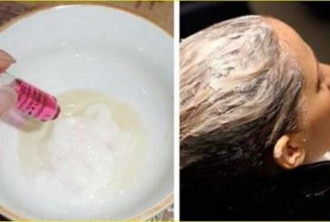 Най-мощната домашна маска за растеж на косатa