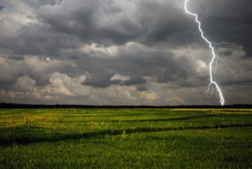 Дъжд, гръмотевици и опасност от градушки