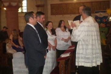 Сватбата на сина на кюстендилец в Германия регистрира прецедент – протестантски и католически свещеник служиха заедно