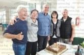 Плувен треньор №1 на България, санданският спец Н. Вакареев почерпи за 60-и рожден ден