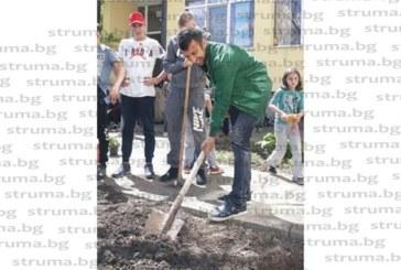 Дяков остави топката и хвана лопатата, сади цветя, зеленчуци и подправки
