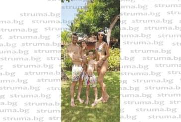 Св. Дяков празнува рожден ден със семейството си на остров Бали