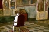 """Папата се помоли пред олтара на Кирил и Методий в """"Александър Невски"""""""