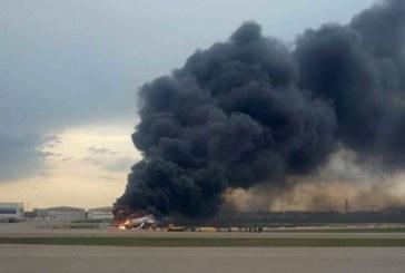 Поне 13 загинали при пожара в пътническия самолет, шестима ранени