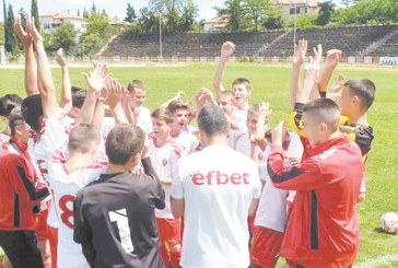 """Децата на """"Беласица"""" триумфираха предсрочно в областното първенство"""
