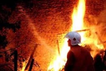 Огнен ужас! Плевня пламна в Симитлийско