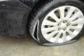 Вандалщина! Рязаха гуми в Дупница
