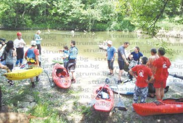 Каякари от цяла България се събраха в бивак на река Струма, мотористи и рокаджии им правиха компания