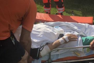След катастрофа в Гоце Делчев! Вдигнаха с хеликоптер тежко ранен бизнесмен