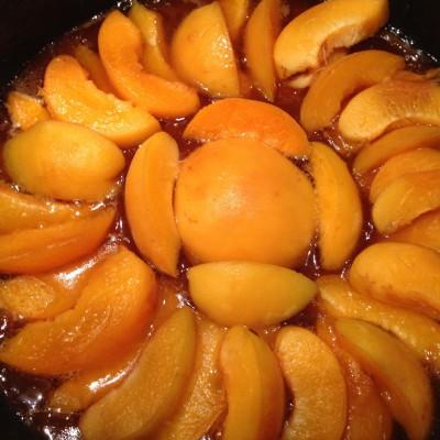 Лесен сладкиш с кайсии