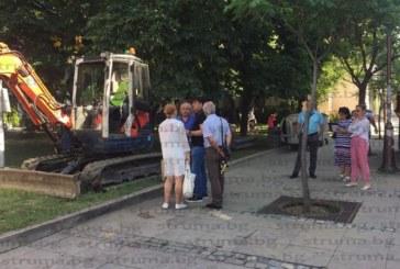 Започна монтажът на подземните контейнери за боклук в Благоевград