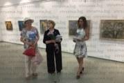 С изложба посмъртно творци почетоха художника Аргир Манасиев, само сестрата Снежана и снахата Юлияна от семейството дойдоха на откриването
