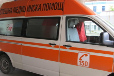Пиян моторист в болница след катастрофа в Бистрица