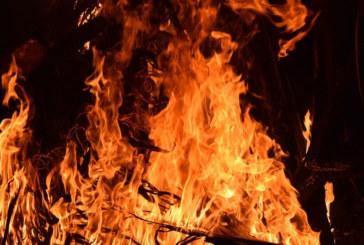 Пожар в Сандански, полиция евакуира хората