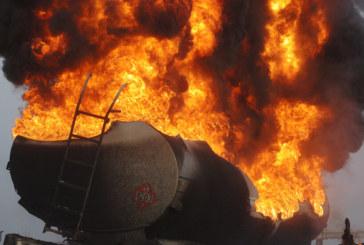 Взрив на петролен танкер в Каспийско море, има загинали