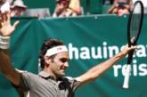 Федерер с 10-и трофей от Хале