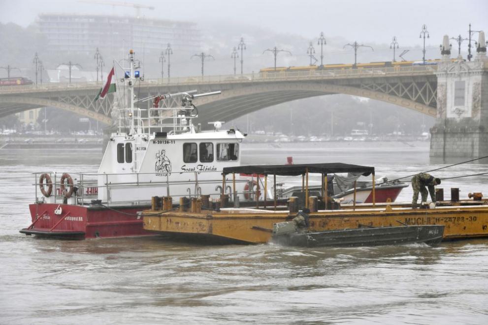 Откриха още четири тела на жертви на потъналото в Дунав корабче