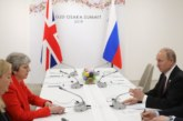 Путин и Мей се срещнаха на форума на Г-20