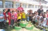 Деца от Кюстендил превърнаха двора на забавачката в ботаническа градина