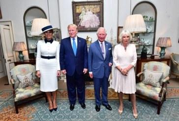 Тръмп и Мелания пиха чай у Камила и Чарлз, посетиха Уестминстърското абатство