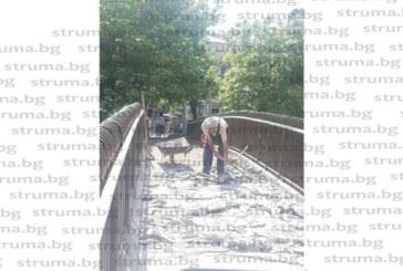 Започна ремонт на моста при бившите хали в Благоевград