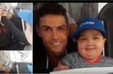 Трогателна среща! Кристиано Роналдо спря автобус, за да прегърне дете, болно от рак