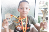 """""""Фолкън"""" с 9 златни медала в Охрид, трима с най-престижната награда"""