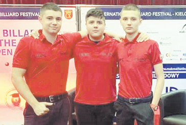 Трио младоци легитимираха  петричкия билярд в Полша