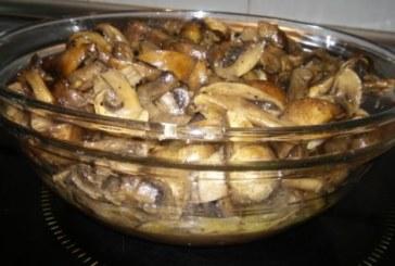 Гъби с масло на фурна