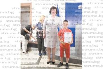 ДОБРАТА НОВИНА!  Второкласник от VІІІ СУ – Благоевград златен медалист в международно състезание по математика