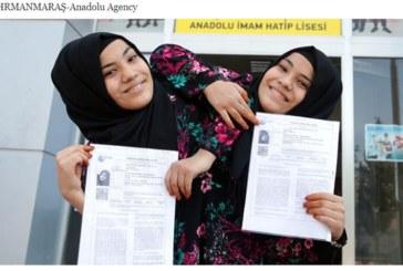 Сиамски близначки се явиха на изпит за ВУЗ