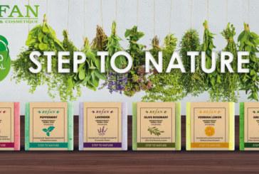 Здраве от природата с колекцията билкови сапуни STEP TO NATURE на REFAN