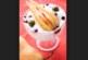 Десерт с мляко и круши