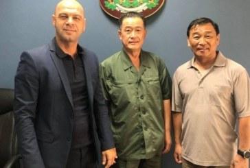 Двама благоевградчани посрещнаха шеф на световното таекуон-до