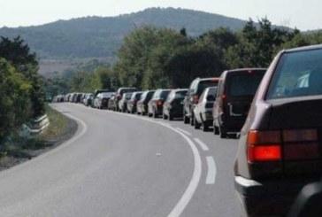 Задръстване по пътя Благоевград – Разлог